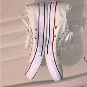 Converse Shoes - White Converse All-Star Shoes